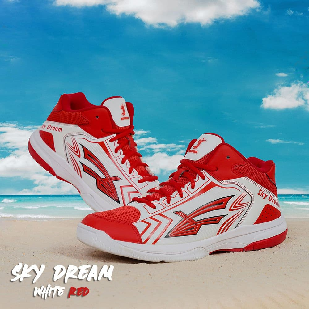 Giày Bóng Chuyền Beyono Sky Dream - White Red