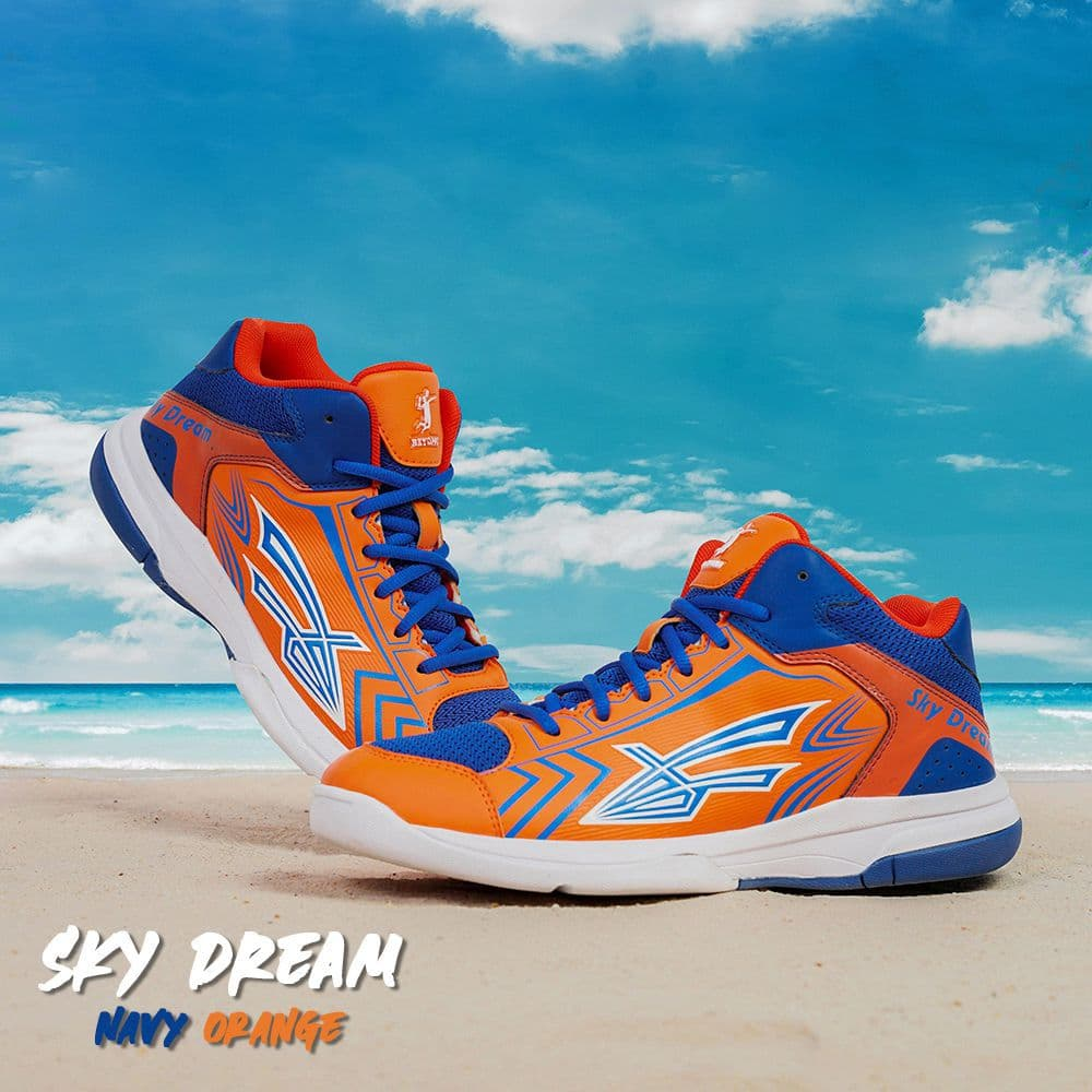 Giày Bóng Chuyền Beyono Sky Dream - Navy Orange