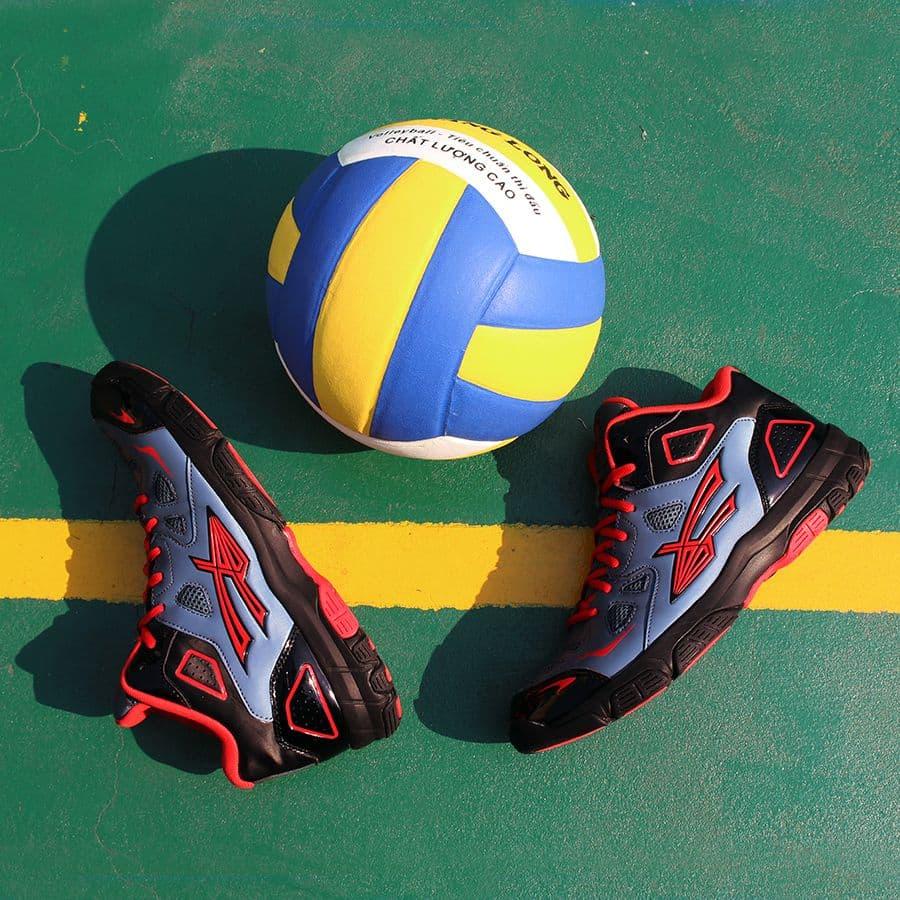 Giày bóng chuyền Beyono Golden Star C - Black Grey