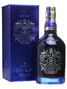 Chivas 18 Yo Blue Signature