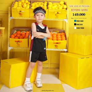 Bộ đồ thể thao trẻ em Beyono Wing