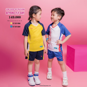 Bộ đồ thể thao trẻ em Beyono Fly Sky